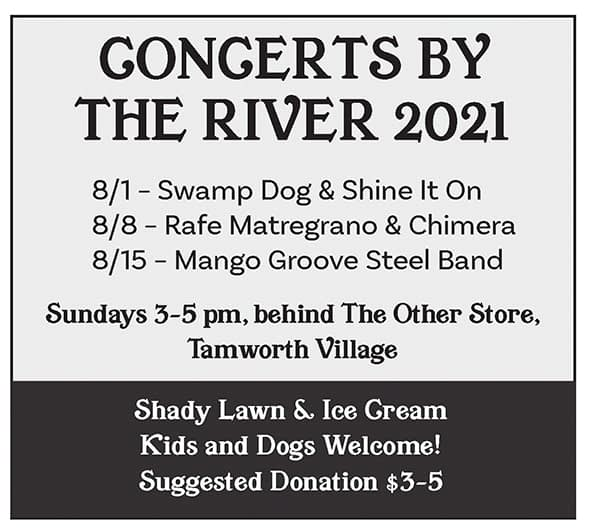 Concerts by the River 2021